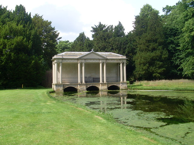 Palladian Bridge at Scampston - geograph.org.uk - 1460617