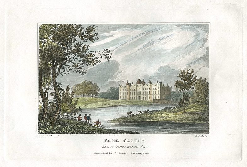 Tong Castle 1831 c ancestryimages