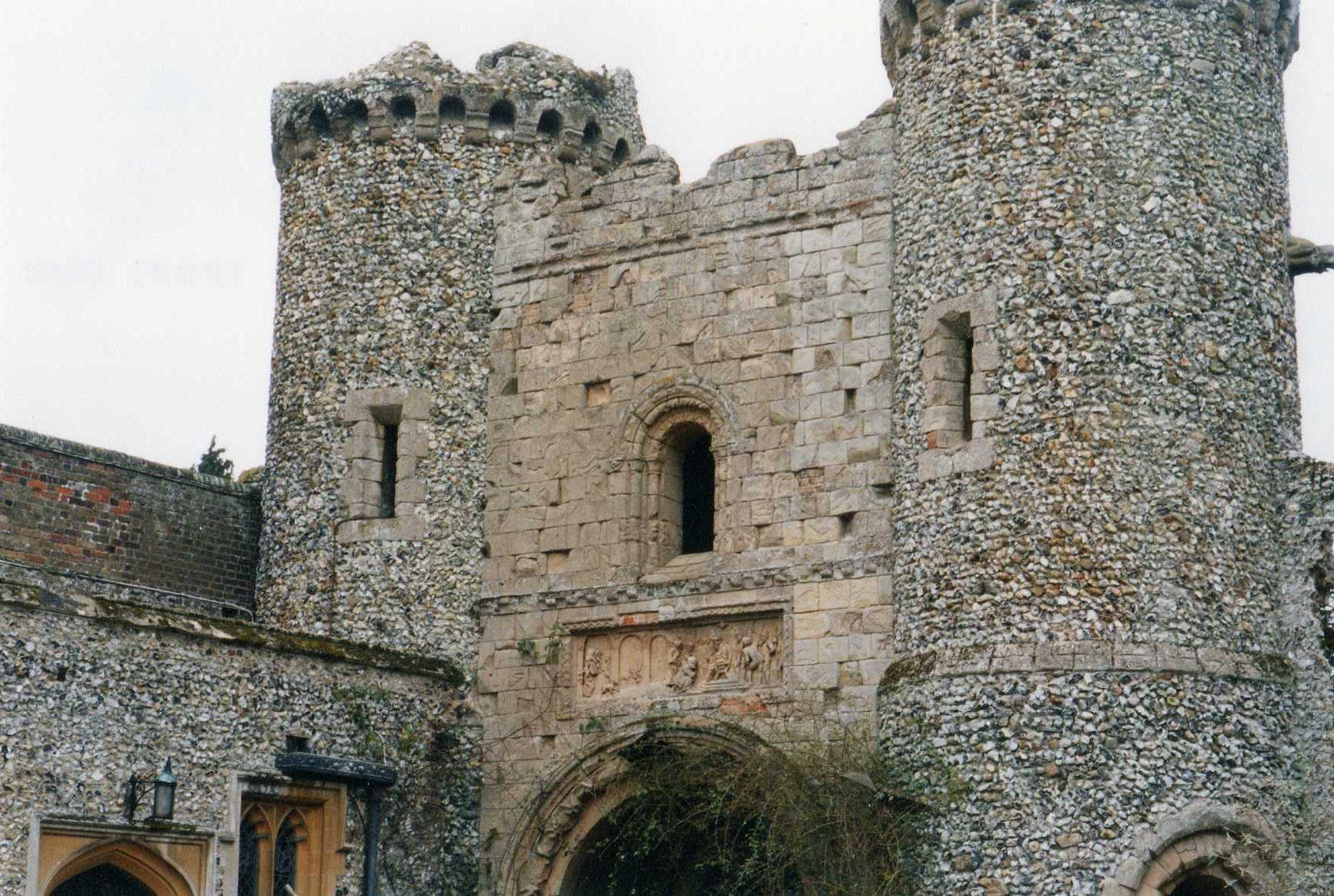 Norman gatehouse at Benington Lordship, near Stevenage