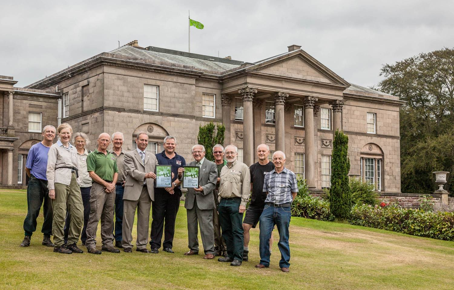 Tatton Park Green Flag award Winner 2