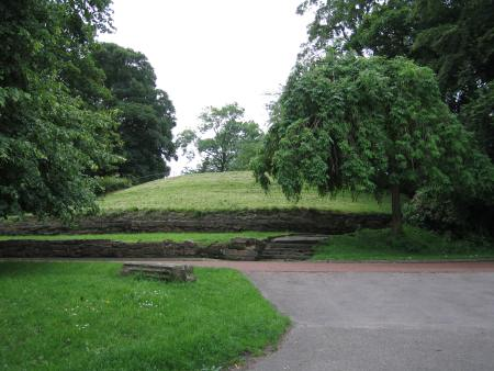 Photograph of a mound