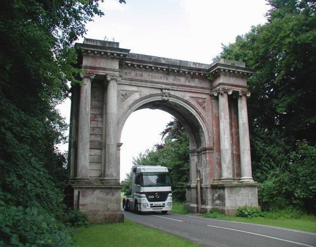 Pgds 20140723 141545 Memorial Arch Brocklesby Park   Geograph Org Uk   901133