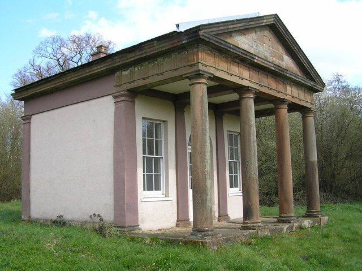Pgds 20140726 204004 The Roman Temple Chillington Estate   Geograph Org Uk   664645