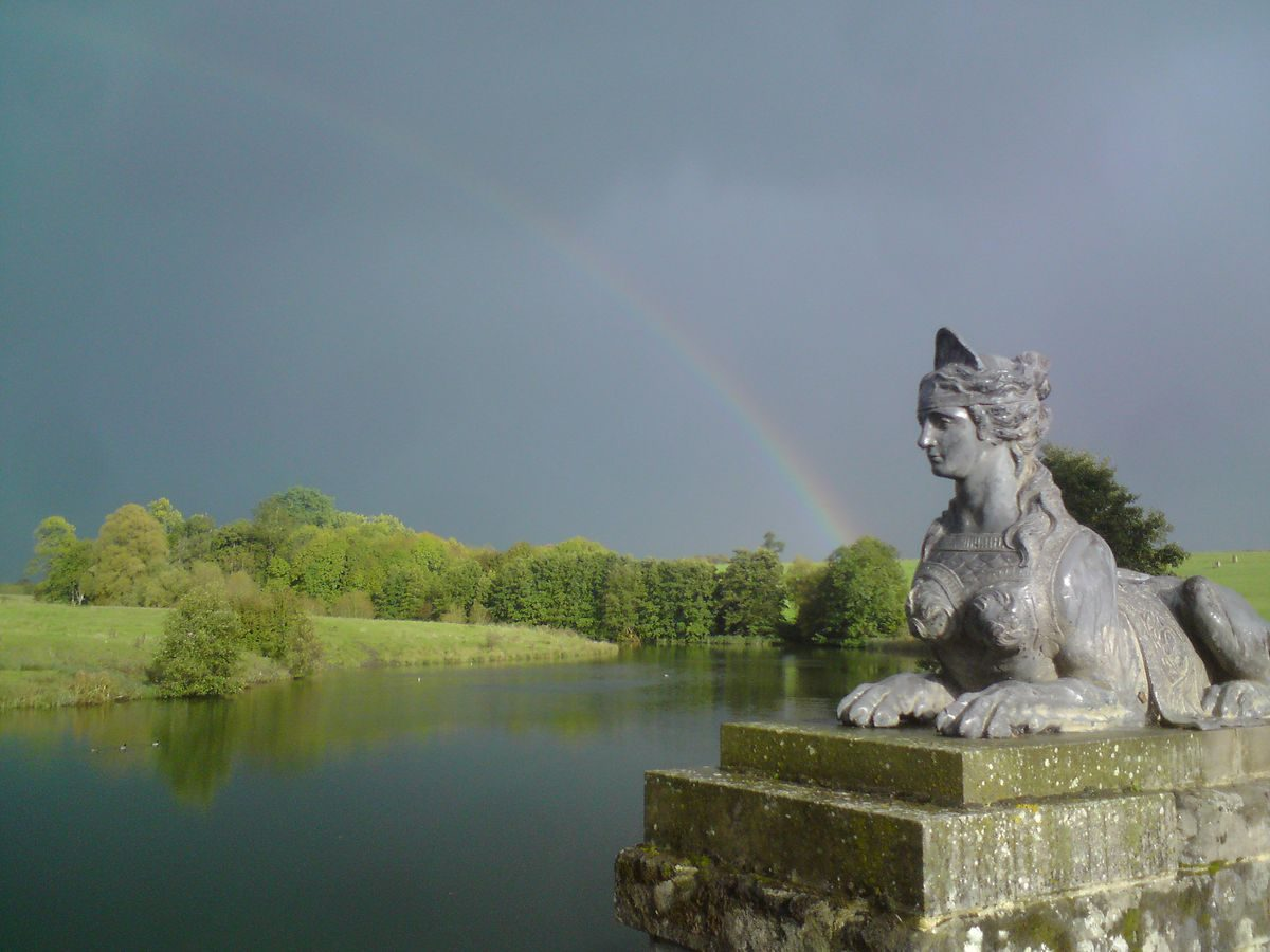 Pgds 20140730 225823 Compton Verney Sphinx And Upper Pool C Compton Verney Gary Webb