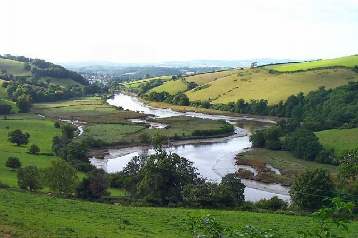 Pgds 20140919 154532 The Dart From Sharpham Drive   Geograph Org Uk   42163