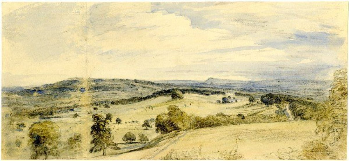 Pgds 20150521 152850 A View Of Petworth Park By John Constable 1834