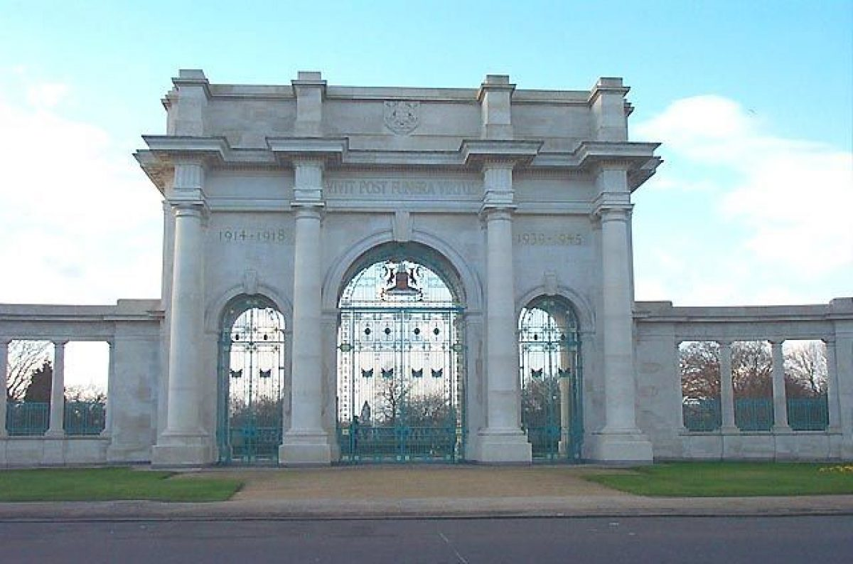Pgds 20150817 124244 Entrance Gates To Memorial Gardens Victoria Embankment   Geograph Org Uk   18939