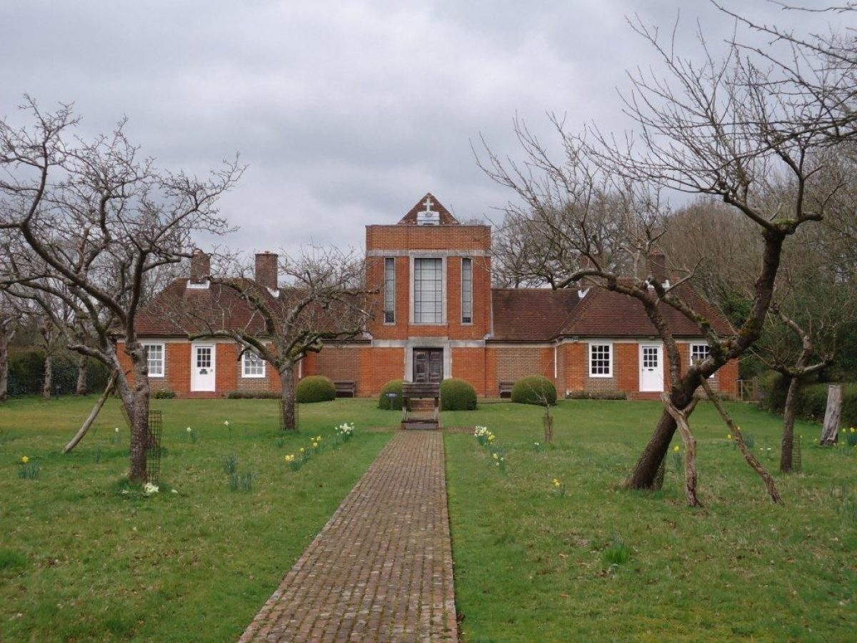 Pgds 20151217 140314 1 Chapel Framed By Orchard Trees