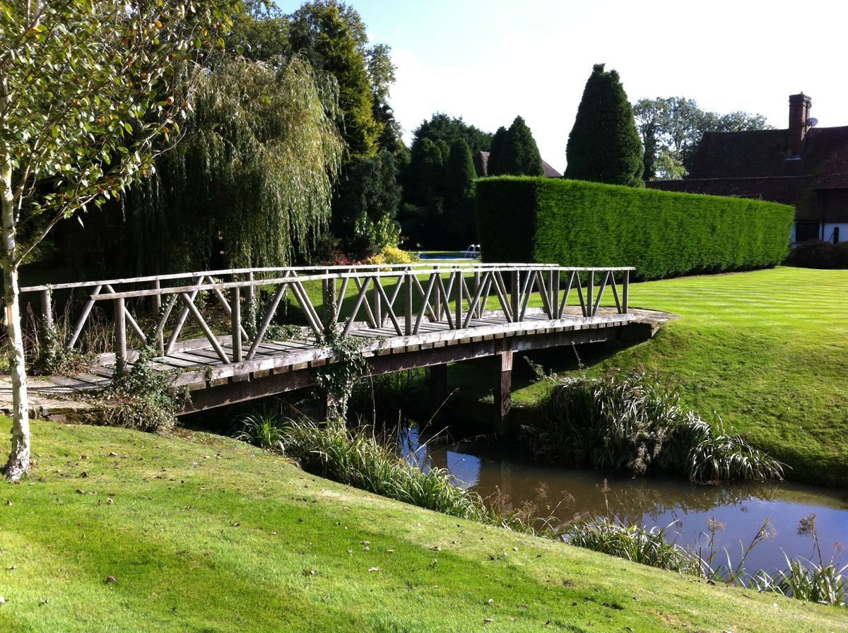 Pgds 20160510 154930 Figure 25 Bridge From Lawned Garden To Woodland Area